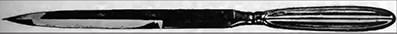 چاقوی کاتلین دارای تیغه ۱۷ در ۵.۱ سانتیمتر